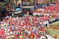 Long march cut short after fresh talks