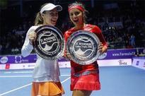 Sania-Hingis win St. Petersburg Ladies Trophy, stretch winning run to 40