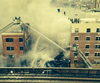 New York building collapse Live: Residents have been smelling gas for 2 weeks