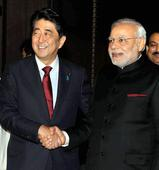 Modi gifts copy of Bhagawad Gita to Shinzo Abe