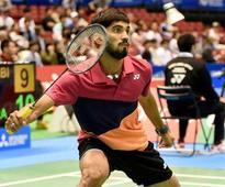 Rediff Sports - Cricket, Indian hockey, Tennis, Football, Chess, Golf - Srikanth keen to make amends at Korea Open