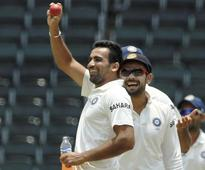 Zaheer takes 300th test wicket in comeback