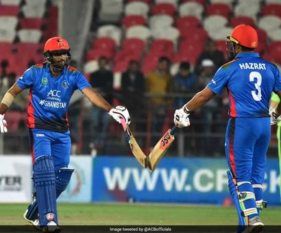 Rediff Cricket - Indian cricket - Afghanistan Score 278 In 20 Overs, Topple Records In 2nd T20I vs Ireland