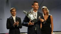Cristiano Ronaldo delighted to win UEFA Best Player in Europe