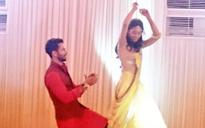 Spotted: Shahid dancing with bride-to-be Mira at Sangeet ceremony
