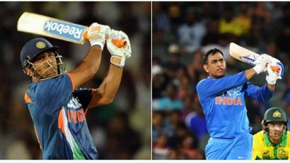 Rediff Cricket - Indian cricket - ICC takes up the #10YearChallenge, shares pictures of MS Dhoni, ICC rankings
