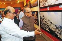 DMRC director Sharat Sharma exhibits his photographs at India Habitat Centre in Delhi
