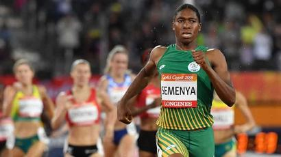 Rediff Sports - Cricket, Indian hockey, Tennis, Football, Chess, Golf - Caster Semenya takes gender rule challenge to sports court