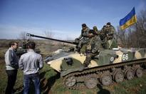 Pro-Russians take control of Ukrainian troop carriers