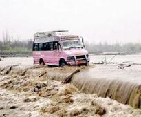 Floods wreak havoc in J&K, 17 killed