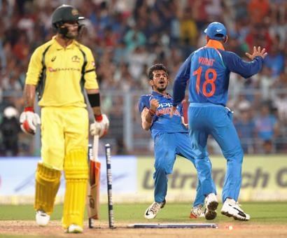 Rediff Cricket - Indian cricket - Kuldeep, Chahal could again play pivotal role in 3rd ODI at Indore, here's why...