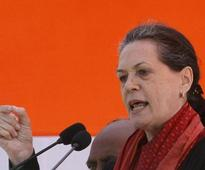 Sonia Gandhi in TN: BJP has been trapped in hands of single individual