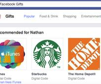 Facebook shuts down its gifts service