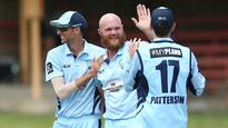 Rediff Sports - Cricket, Indian hockey, Tennis, Football, Chess, Golf - Bollinger, Hughes help New South Wales into finals