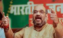 BJP president Amit Shah shares dais with tainted neta