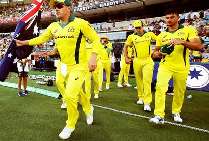 Rediff Cricket - Indian cricket - Cricket Buzz: New shirt sponsor for Australia after ball tampering scandal