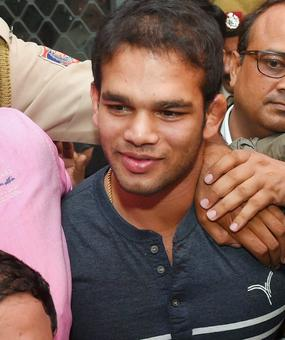 Rediff Sports - Cricket, Indian hockey, Tennis, Football, Chess, Golf - Wrestling federation satisfied with Narsingh's hearing