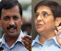 Delhi polls: Bedi sues Kejriwal for calling her 'opportunist', using photo with no permission
