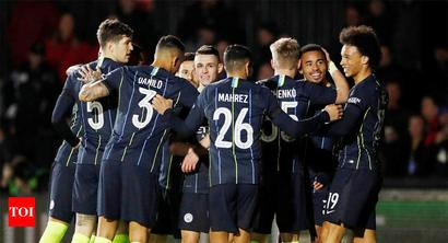 Rediff Sports - Cricket, Indian hockey, Tennis, Football, Chess, Golf - FA Cup: City beat Newport to reach quarters