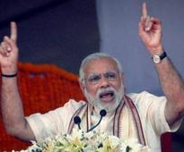 Modi blames Congress for delaying projects