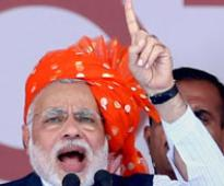 Nitish's arrogance higher than Mt Everest: Modi