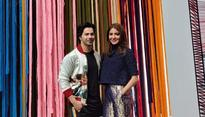 Current Bollywood News & Movies - Indian Movie Reviews, Hindi Music & Gossip - Varun Dhawan threatens to bite as Anushka Sharma is asked about trolls at Sui Dhaaga...