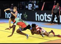 Rediff Sports - Cricket, Indian hockey, Tennis, Football, Chess, Golf - Kabaddi World Cup: Kenya beat US to keep semi-final hopes alive