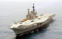 Indian Navy's ageing giant INS Viraat sets sail for final voyage