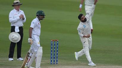 Rediff Cricket - Indian cricket - Mumbai-born Ajaz Patel stars for New Zealand as Pakistan fail to chase 176 in 1st...