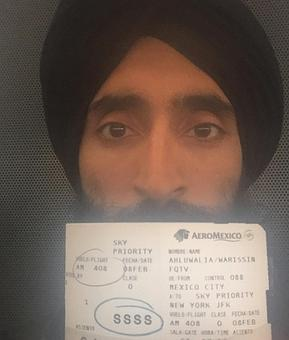 Sikh actor says he wasn't allowed to board flight because of his turban