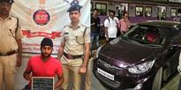 Rediff Sports - Cricket, Indian hockey, Tennis, Football, Chess, Golf - Former IPL player detained for driving car straight onto Andheri railway platform