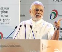 Even a Child Understands Digital Power Today: PM Modi at the Launch of Digital India Week