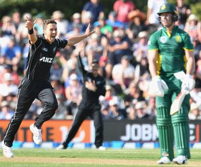 Rediff Sports - Cricket, Indian hockey, Tennis, Football, Chess, Golf - Taylor, Boult shine as NZ square South Africa series