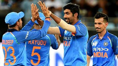 Rediff Cricket - Indian cricket - Asia Cup 2018: Bowlers do star turn as India thump Pakistan by 8 wickets
