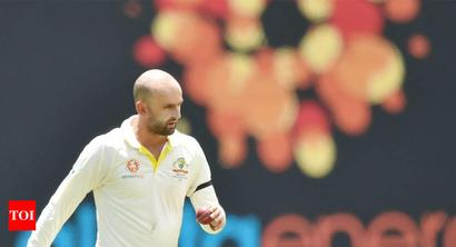 Rediff Sports - Cricket, Indian hockey, Tennis, Football, Chess, Golf - Nathan Lyon feels India missed a spinner