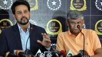 Rediff Cricket - Indian cricket - BCCI president Anurag Thakur, secretary Ajay Shirke to meet Lodha Panel
