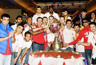 Heroes welcome for ISL champions Atletico de Kolkata