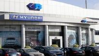 Hyundai sales down marginally