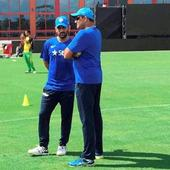 Rediff Sports - Cricket, Indian hockey, Tennis, Football, Chess, Golf - #WIvIND T20: MS Dhoni is looking forward to an interesting series against 'extraordinary' Windies