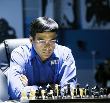 Rediff Sports - Cricket, Indian hockey, Tennis, Football, Chess, Golf - Anand draws with Wei Yi to stay in joint lead