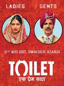 Current Bollywood News & Movies - Indian Movie Reviews, Hindi Music & Gossip - Toilet: Ek Prem Katha makes a grand entry in 100 cr. club!