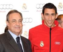 Real Madrid President Florentino Perez defends James Rodriguez purchase and Di Maria sale