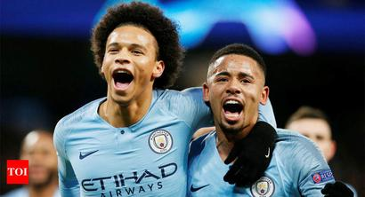 Rediff Sports - Cricket, Indian hockey, Tennis, Football, Chess, Golf - Champions League: Manchester City win group as Leroy Sane double sinks Hoffenheim
