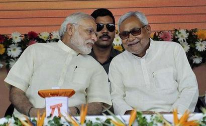 Nitish congratulates Modi, Shah on Gujarat, Himachal victory