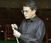 Rediff Sports - Cricket, Indian hockey, Tennis, Football, Chess, Golf - Siddharth Parikh Causes Massive Upset In World Billiards Championship Defeats Former Champion Peter Gilchrist