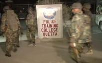 Pakistan police training centre in Quetta raided by militants with hundreds held captive
