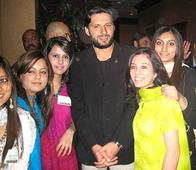 Rediff Sports - Cricket, Indian hockey, Tennis, Football, Chess, Golf - With an AK-47 to Pictures With Bollywood Biggies, These 15 Photos of Shahid Afridi You Might Have Not Seen
