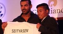 Rediff Sports - Cricket, Indian hockey, Tennis, Football, Chess, Golf - North Eastern players say ISL opening ceremony will put local football in spotlight