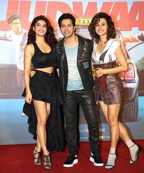 Current Bollywood News & Movies - Indian Movie Reviews, Hindi Music & Gossip - 'Judwaa 2 is today's film'