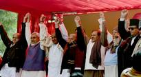 Nitish, Mulayam, Lalu slam Modi from a common dais